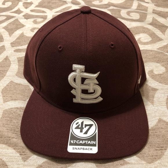 0b803b41508 St. Louis Cardinals New Era 47 Captain SnapBack. NWT